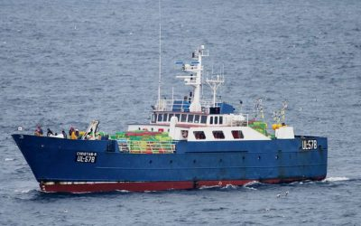 UK Flagship Detained In Dingle