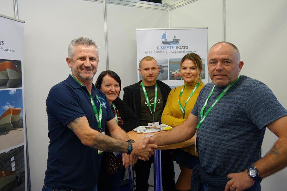 Brisk business on first day of Skipper Expo Int. Bristol 2018
