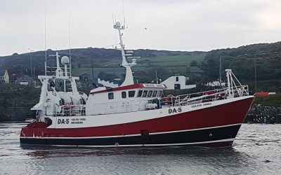 """New Prawn Trawler """"Celtic Oriel"""" For Clogherhead – July 2019"""