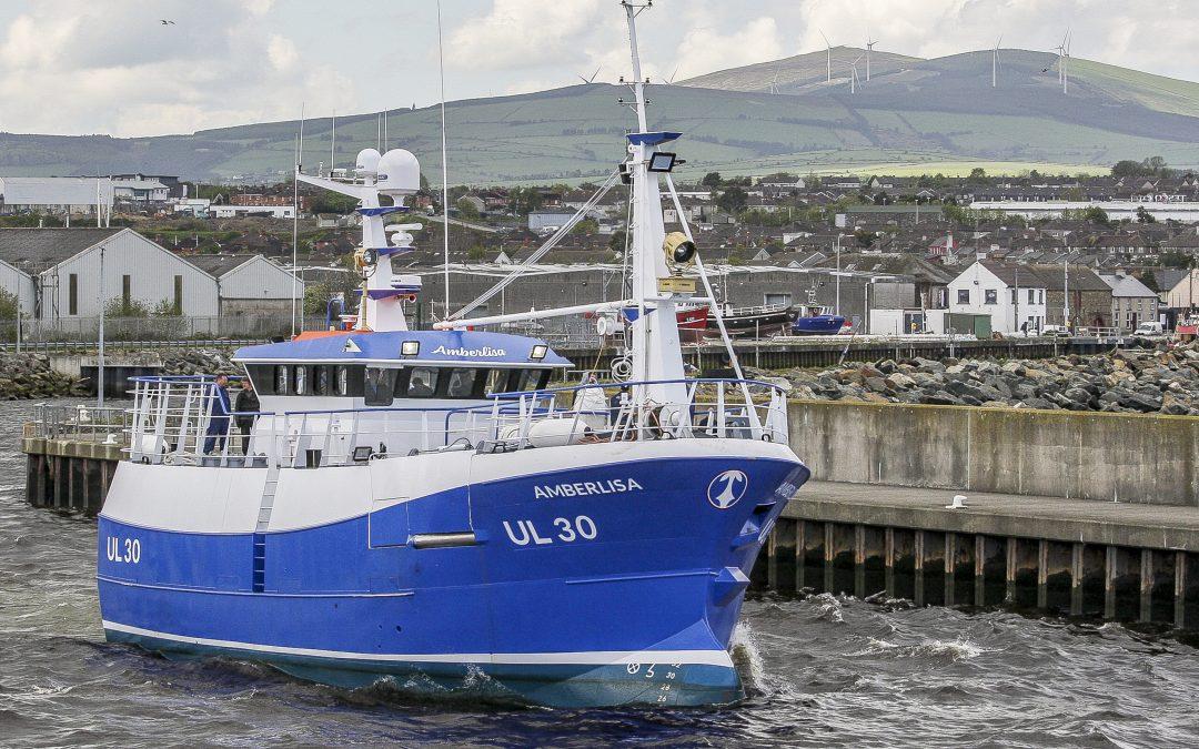 Arklow Marine Built Amberlisa Steams For Downings – June 2019