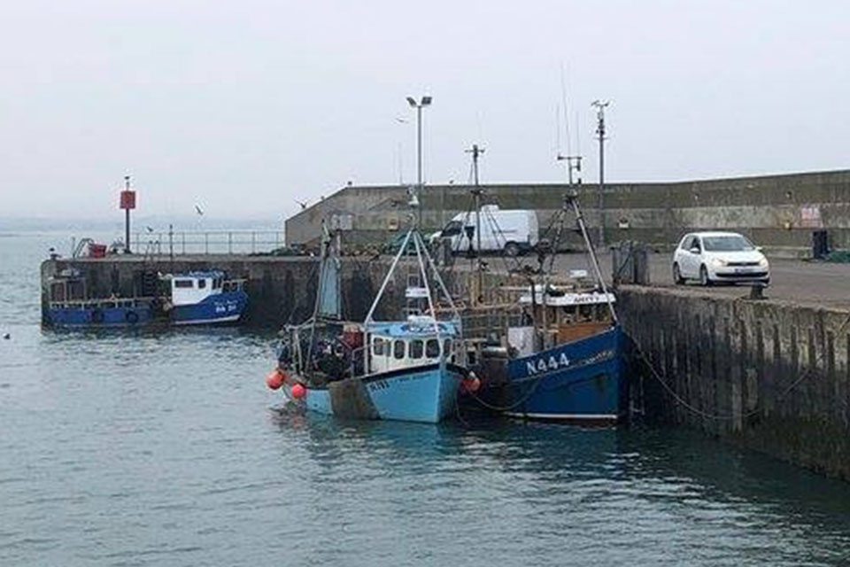 Irish harbour