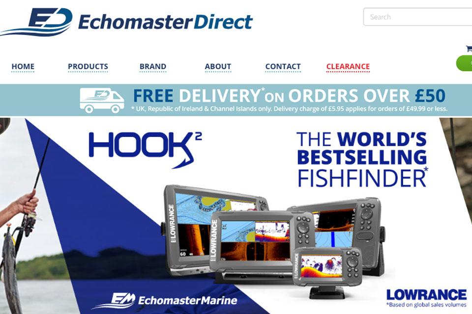 New Website For Echomaster Marine