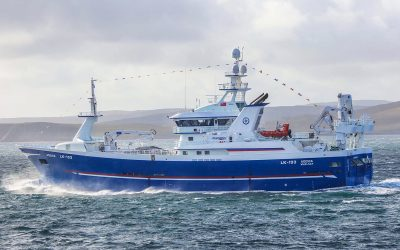New Adenia starts fishing after arriving home via Killybegs – October2019