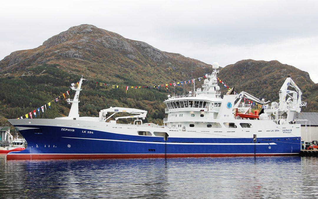Zephyr is latest pelagic giant to join Whalsay Fleet – November 2019