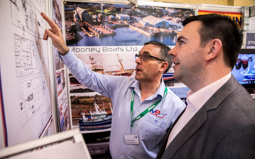 Mooney Boats exhibiting a wide range of products and services