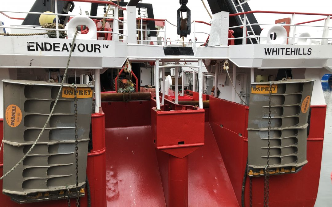 Osprey trawl doors from Morgére yielding results for Scottish fishing family