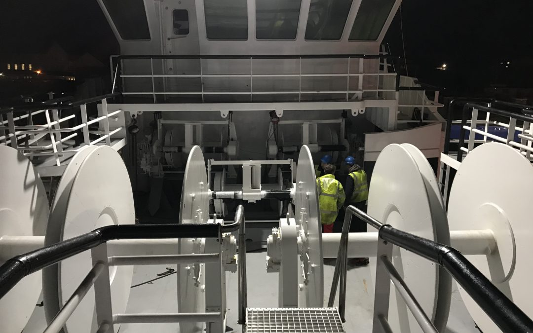 Deck machinery solutions from MacGregor (GBR) Ltd