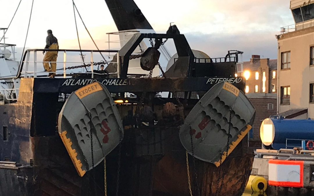 Exocet trawl doors delivering great results for fishermen