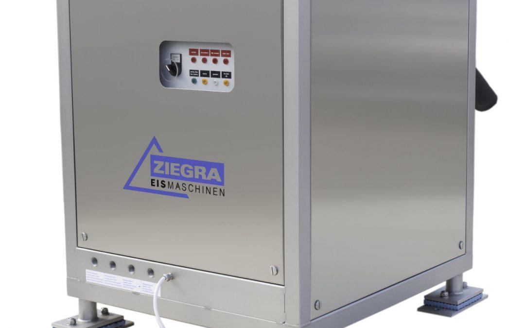 Ziegra ice machine range on display at Limerick