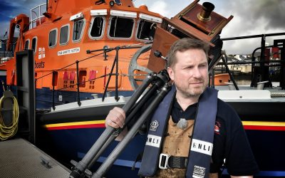 Five years down, three to go in photographer's RNLI journey