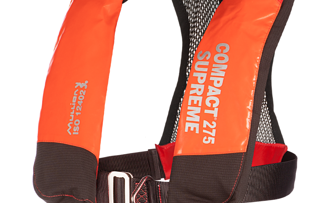 Mullion to launch new COMPACT 275 lifejacket