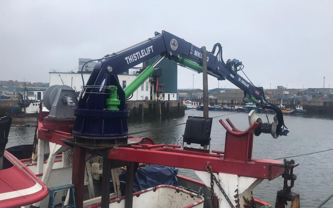 Thistle Marine – the specialists in hydraulic deck equipment
