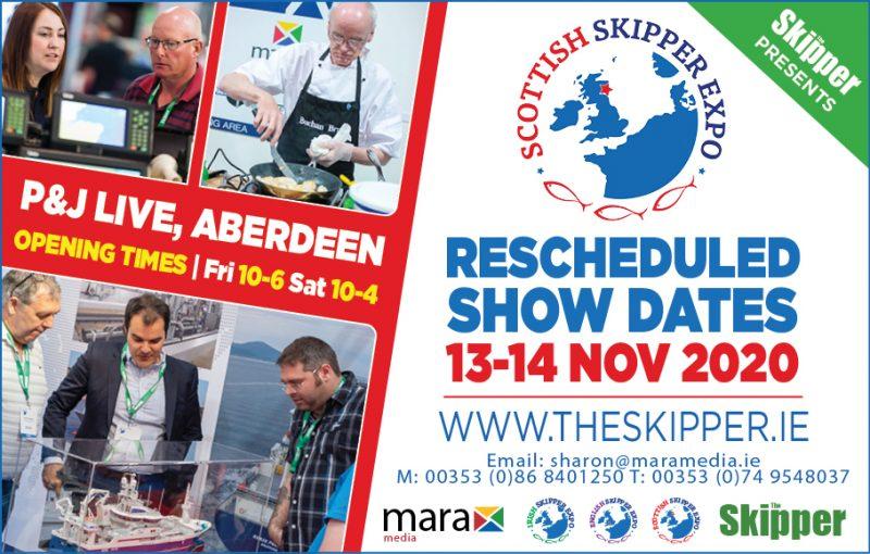 Scottish Skipper Expo now set for November