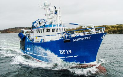 New gem from Mooney Boats steams home for Fraserburgh – February 2020