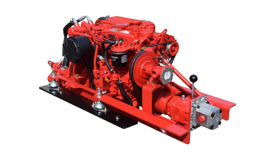 Beta Marine exhibiting Beta 35 propulsion system