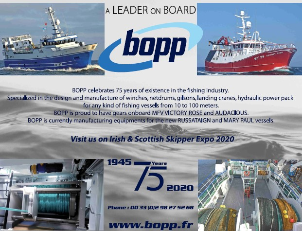 BOPP celebrating 75 years of service to the fishing industry