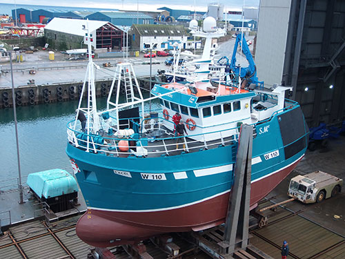 Extensive Refurb in Peterhead for Excel W110 – March 2020