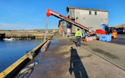 New ice production facility operational at Eyemouth Harbour