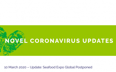 Brussels Seafood Expo postponed due to coronavirus