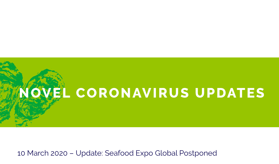 Brussels Seafood Expo postponed due to coronavirus