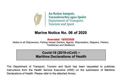 Covid-19 Maritime Declarations of Health