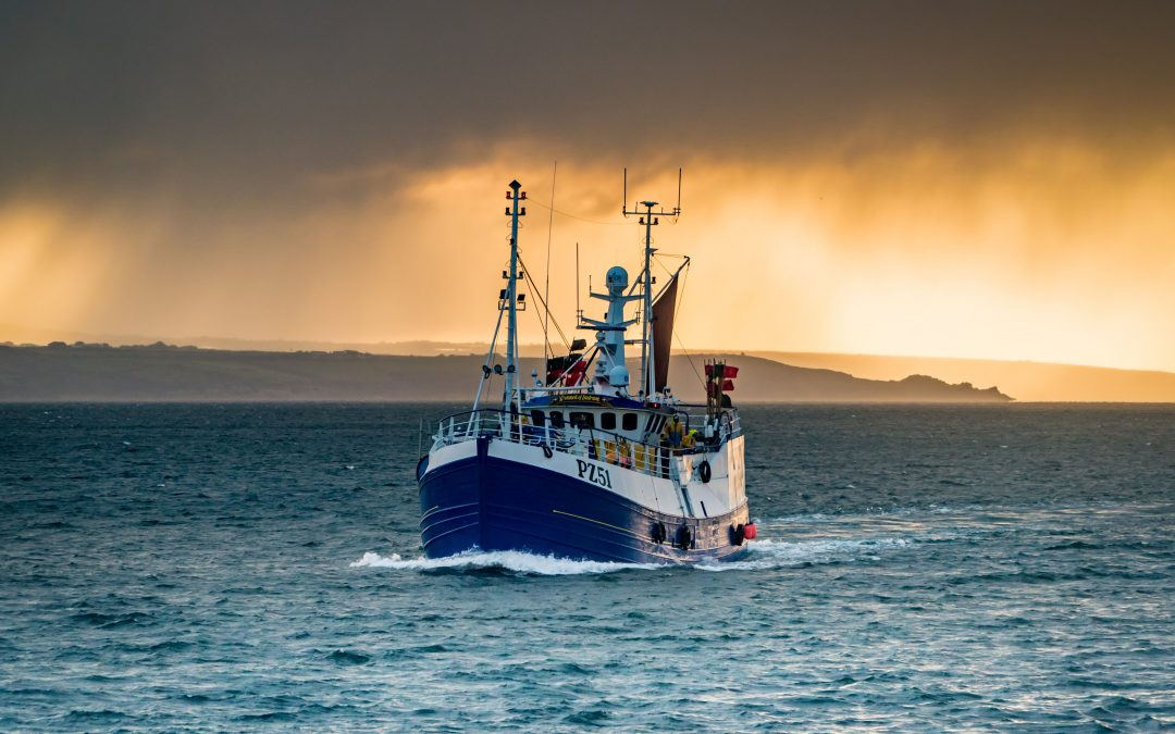 UK: Fisheries Minister pens letter of thanks to fishing industry.