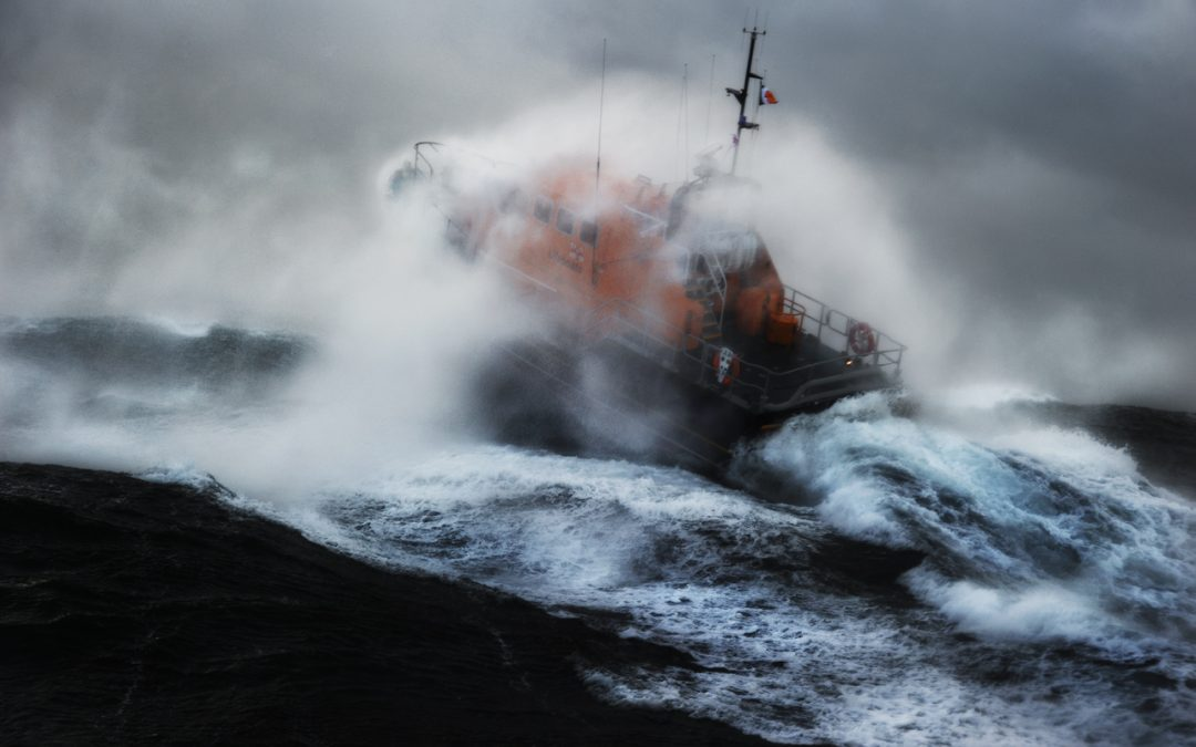 RNLI and Coast Guard ask people not to use the sea for leisure