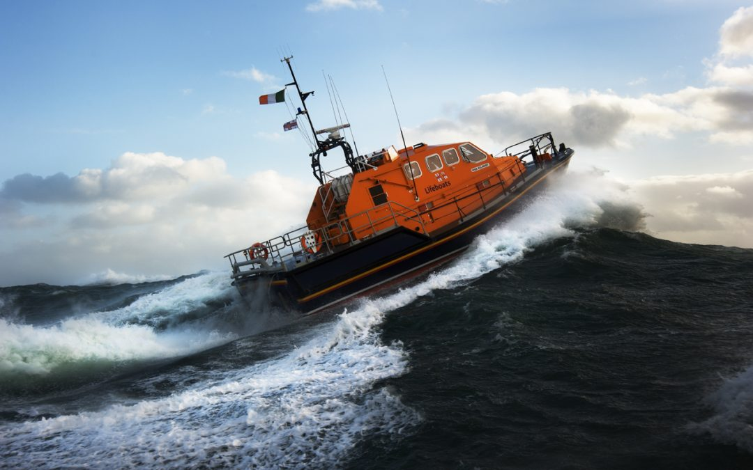 PJ Gallagher backs RNLI's Mayday Appeal to fundraise at home