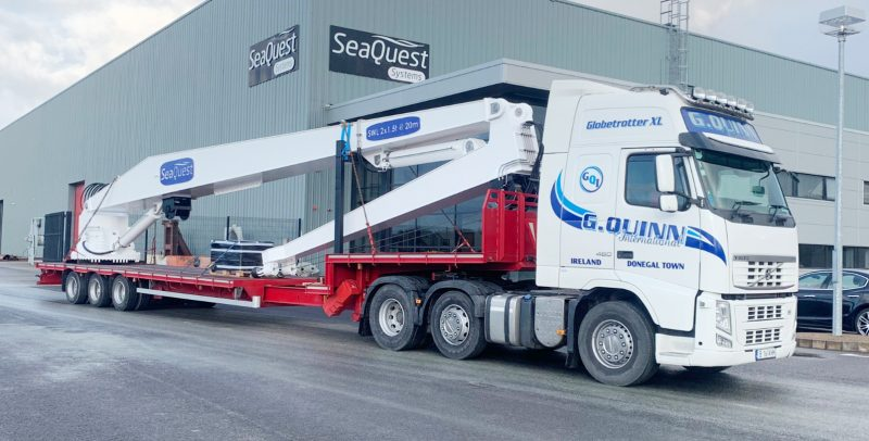 Seaquest Systems continues to push ahead with deck equipment for Irish and foreign markets