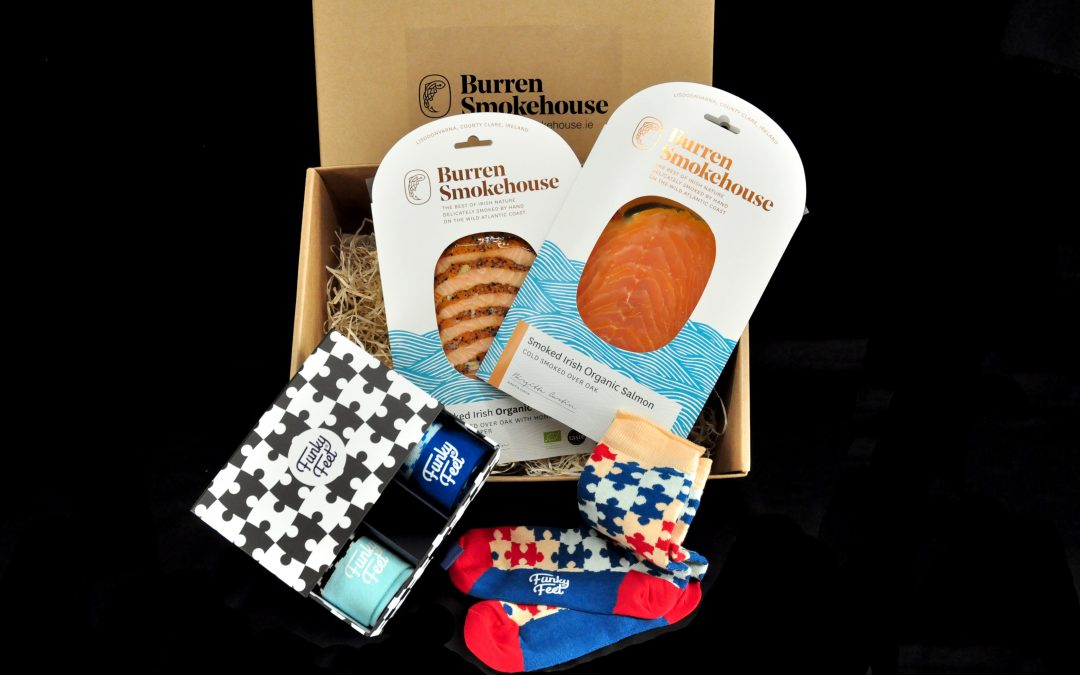 Socks & Salmon from the Burren Smokehouse this Father's Day