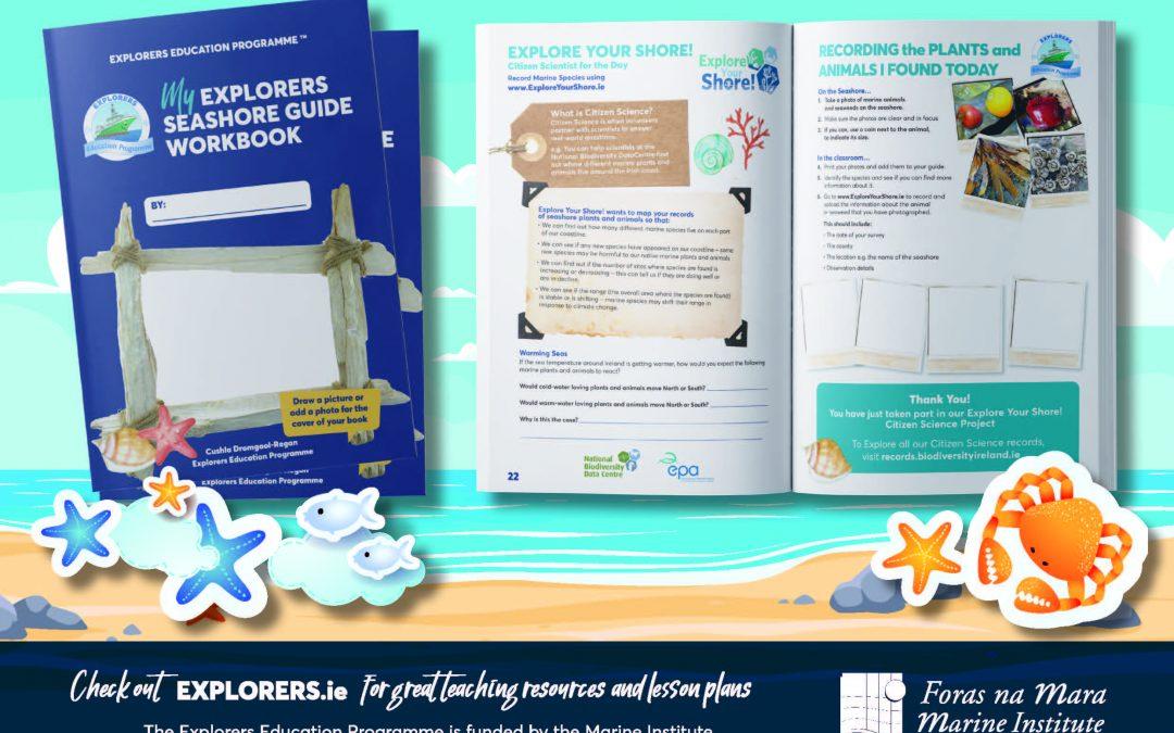 My Explorers Seashore Guide Work Book
