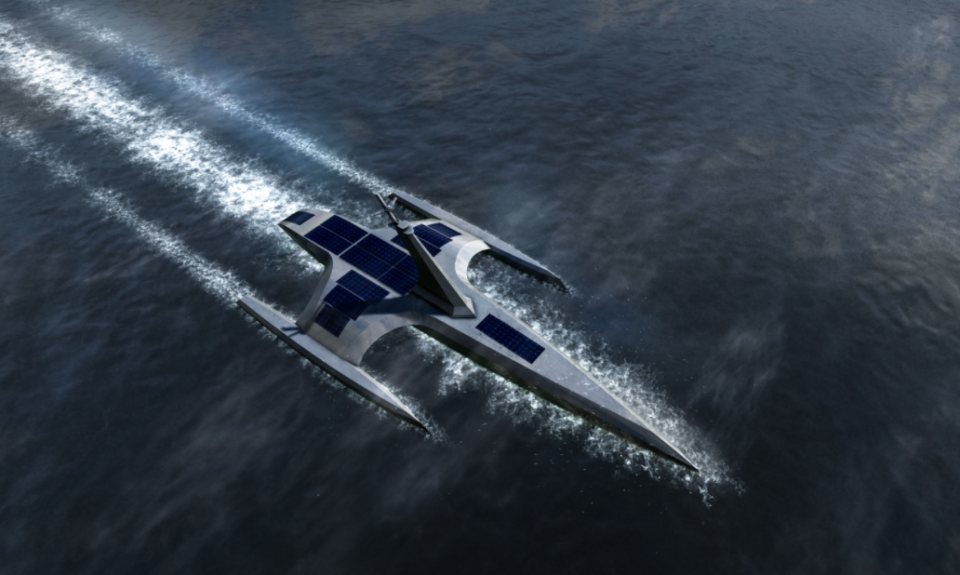 World's first fully autonomous vessel to cross the Atlantic