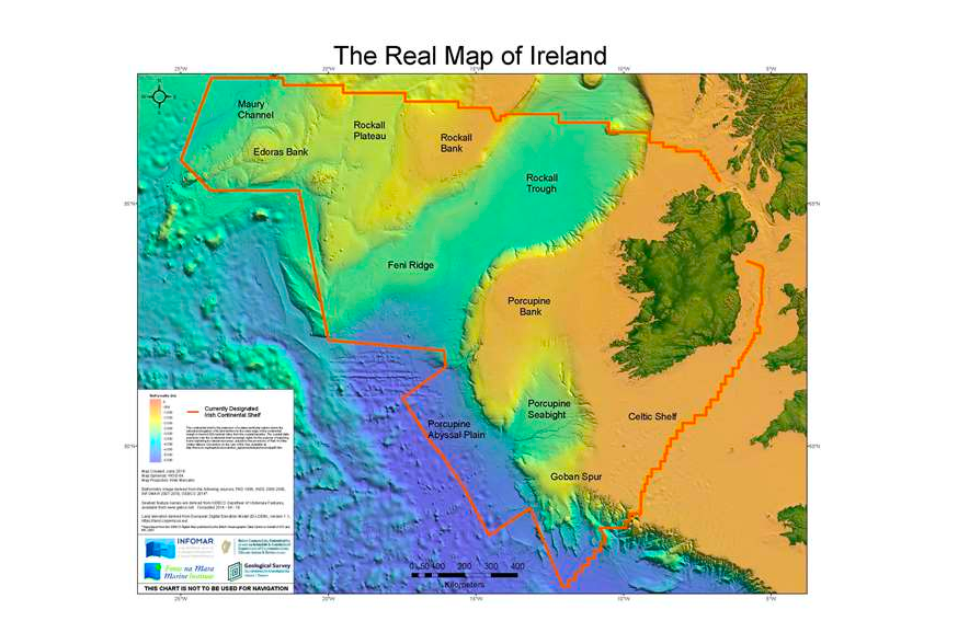 "Ireland: Europe's island in the ""Goldilocks"" zone for rich marine resources"