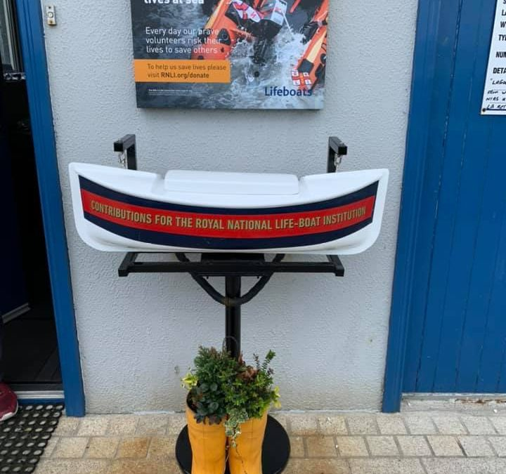 Charity Box Contents Stolen from Outside Donaghadee RNLI Station