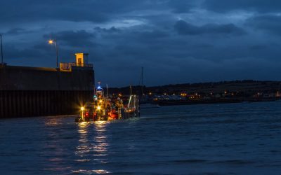 Skerries & Clogherhead RNLI respond to report of vessel on fire