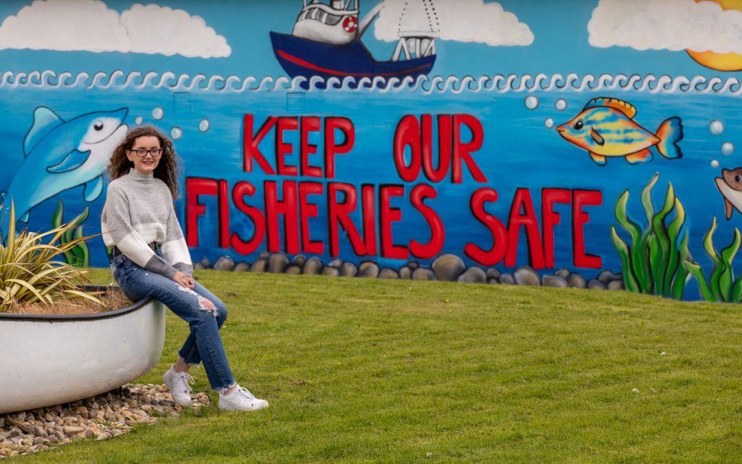 Dunmore East Art Wall Competition Winning Mural Unveiled