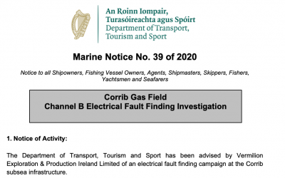 Corrib Gas Field Electrical Fault Finding Investigation