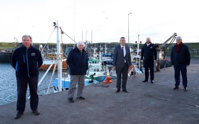 Minister Poots Meets With Ardglass Fishing Industry