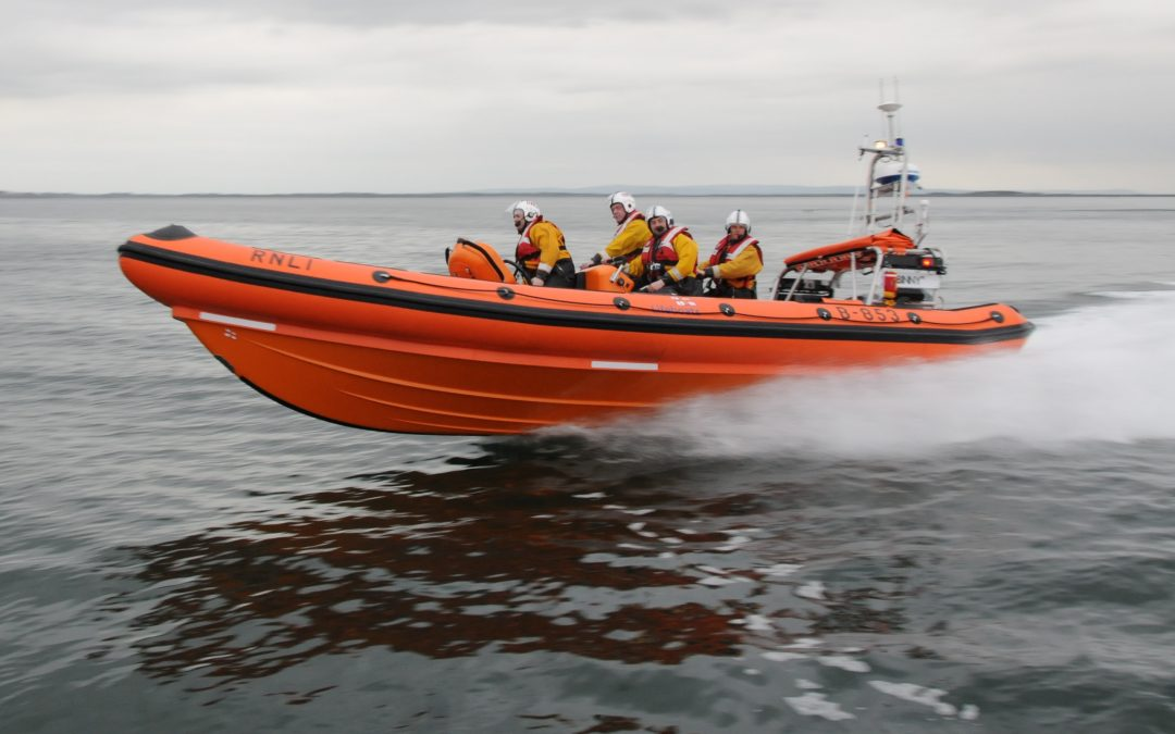 Fisherman dies off Salthill, Galway this afternoon.