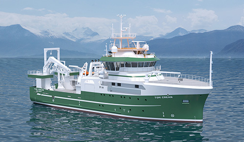 Ireland's new marine research vessel to honour Irish explorer Tom Crean