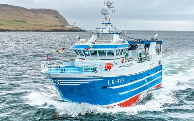Shetland renewal programme continues as Courageous joins local fleet