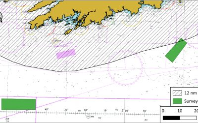 Geophysical survey operation  by Green Rebel Marine in the Celtic Sea