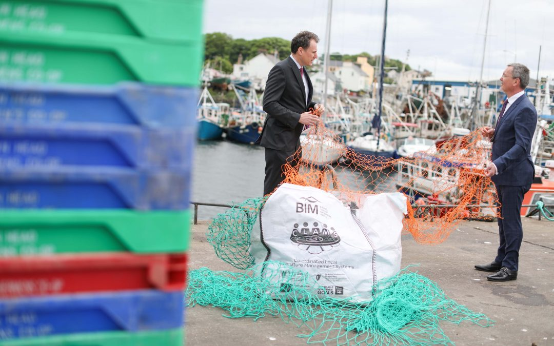 600 tonnes of marine waste has been collected by Ireland's seafood sector since 2015