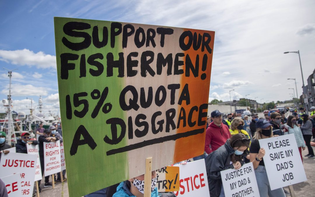 Equal Rights And Equal Opportunities For Irish Fishermen Dublin Demo Details