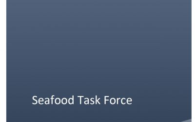 Interim report of the Seafood Sector Task Forcereleased