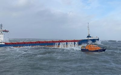 Three Irish lifeboat crews to receive RNLI gallantry awards for saving nine people in dramatic rescue off Wexford coast