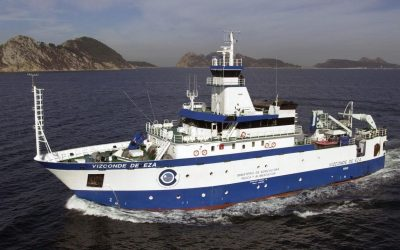 Spanishvessel begins Porcupine survey to assess fisheries resources on the west coast of Ireland